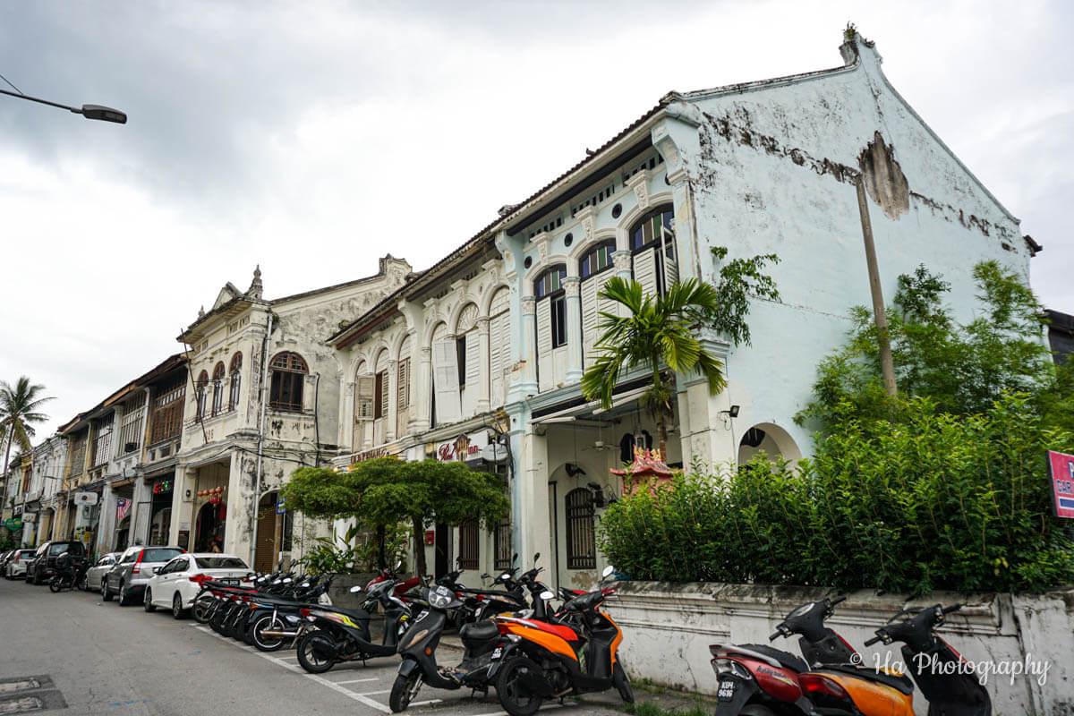 Georgetown Penang Malaysia house
