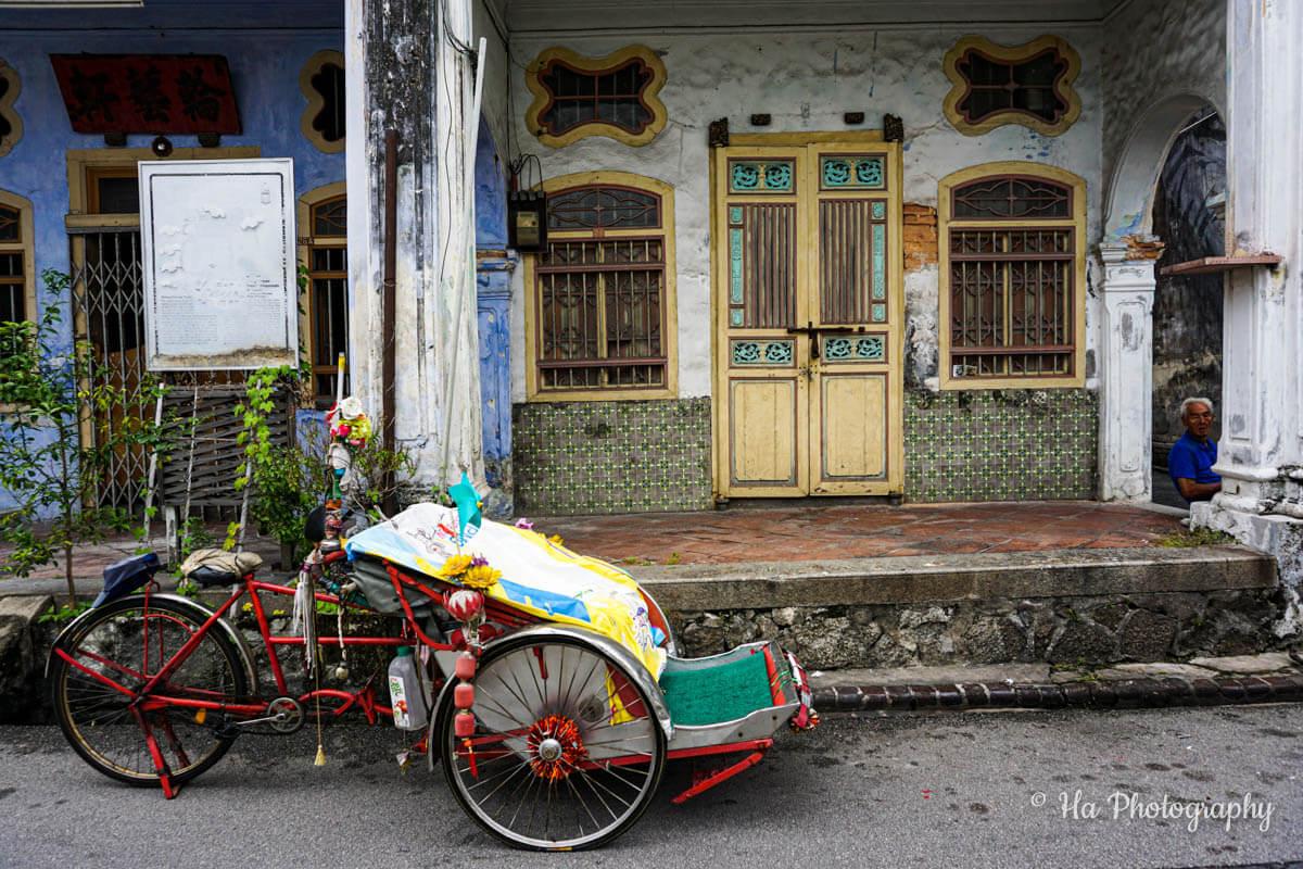 Penang street Malaysia
