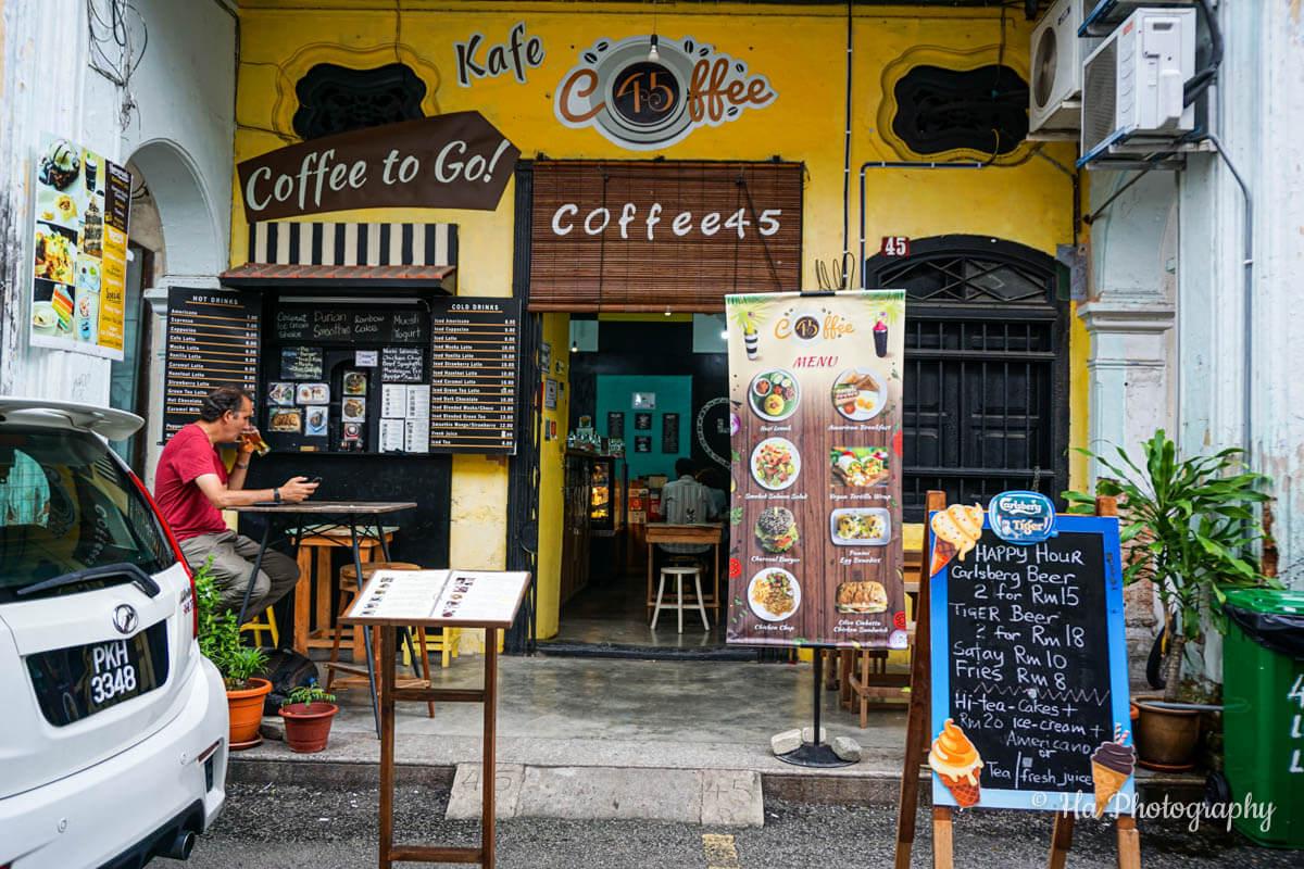cafe Georgetown Penang Malaysia