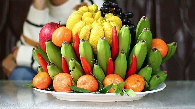 fruit tray Tet