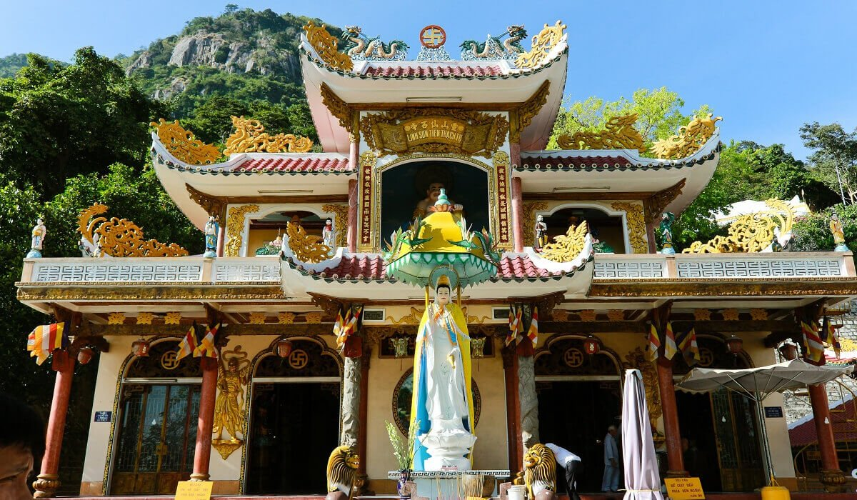 Ba Den pagoda Tay Ninh Vietnam