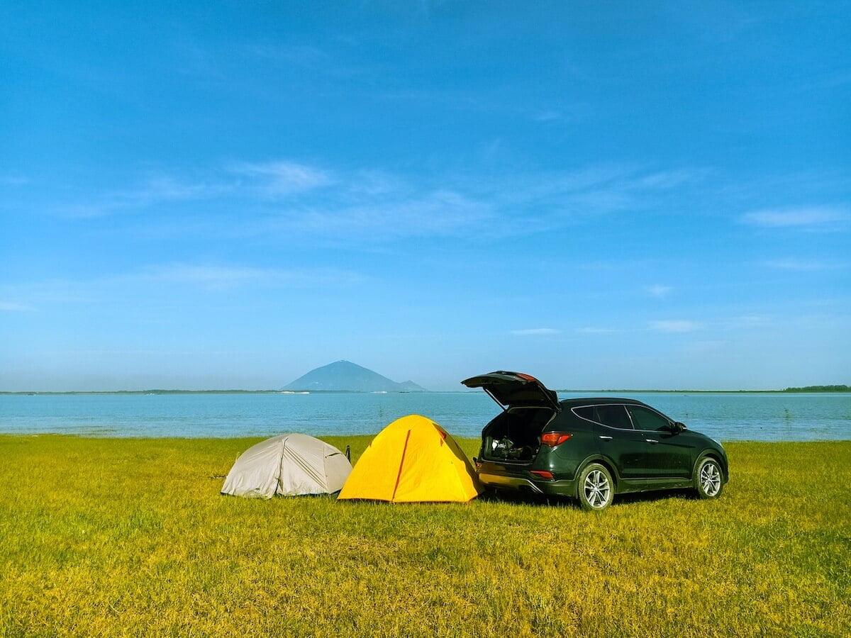 Dau Tieng lake Tay Ninh Vietnam