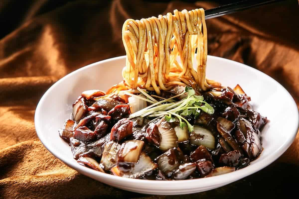 Jajangmyeon Noodles Korean