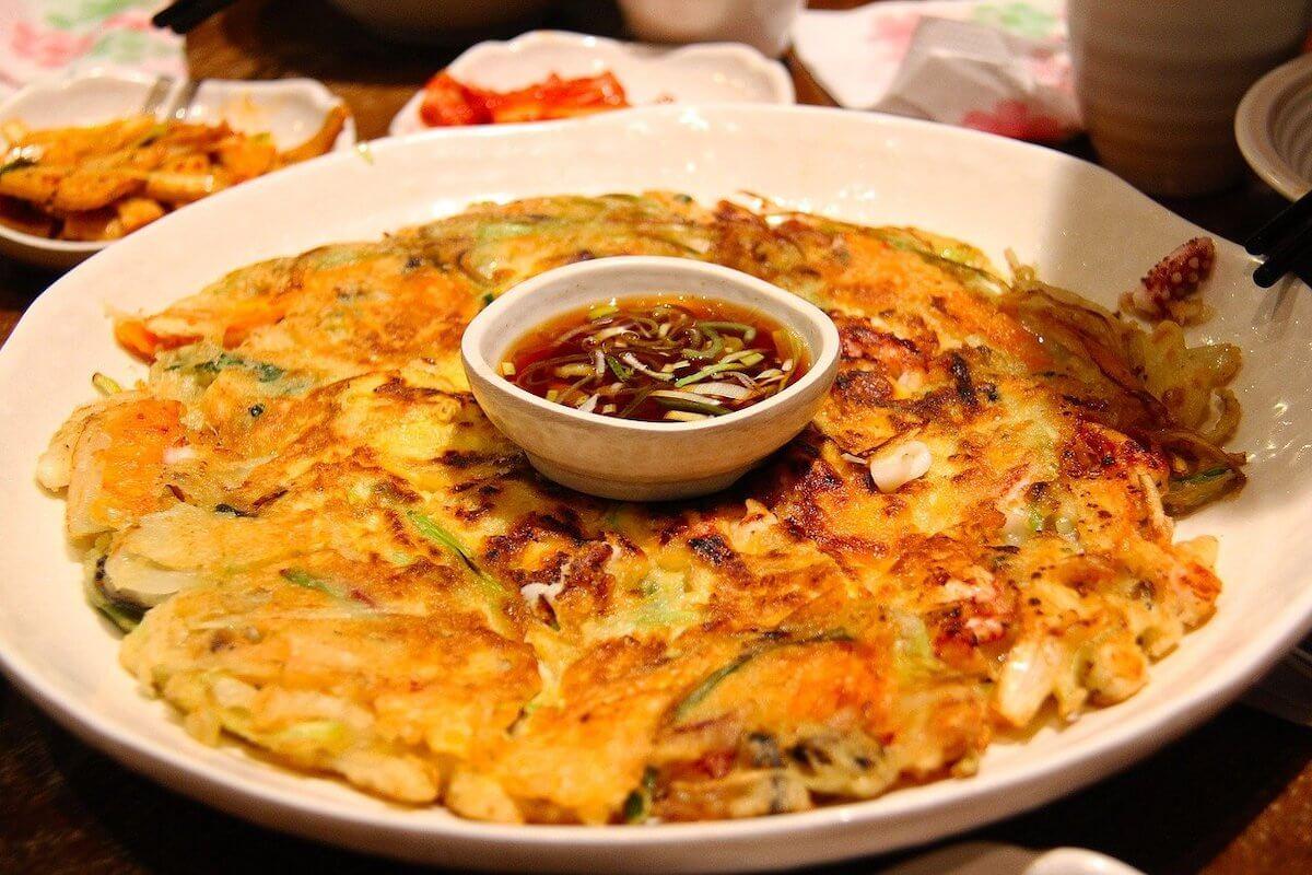 Korean Pancakes Pajeon