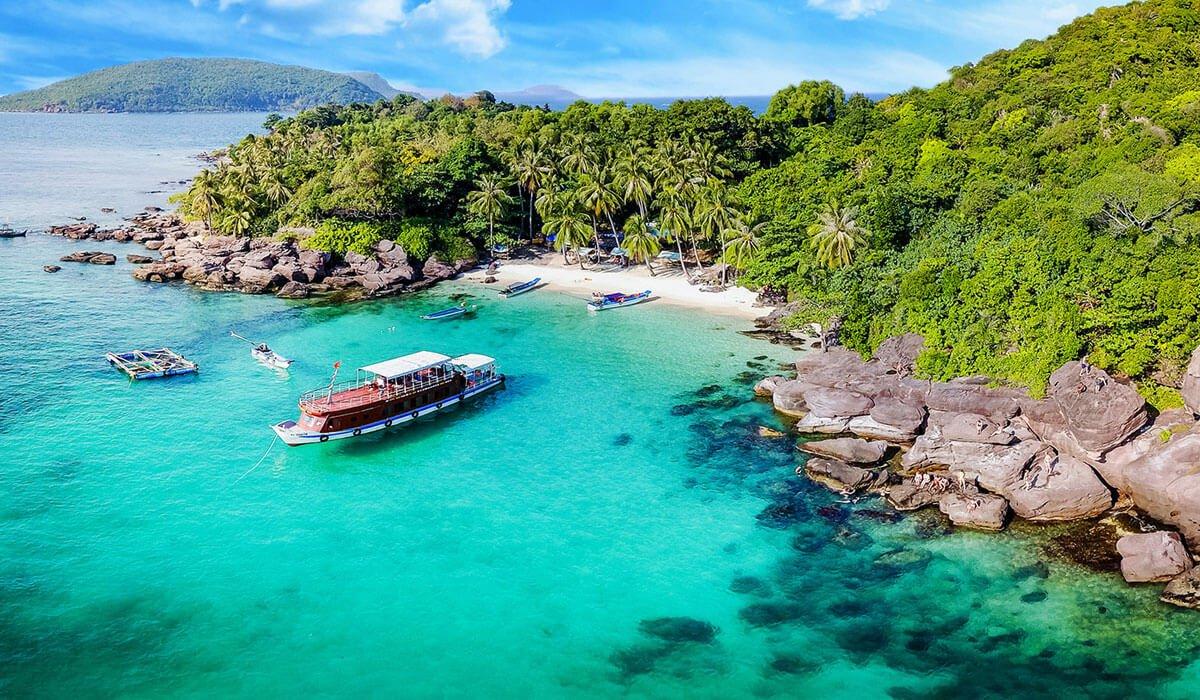 Nam Du island Vietnam
