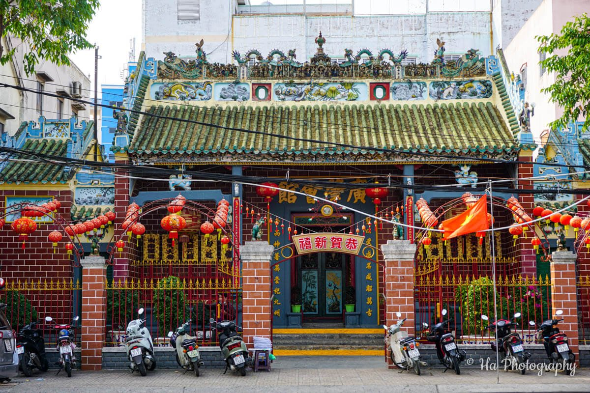 Ong Temple Can Tho Vietnam