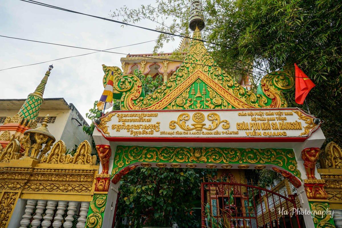 Pitu Khosa Rangsay Temple Can Tho Vietnam