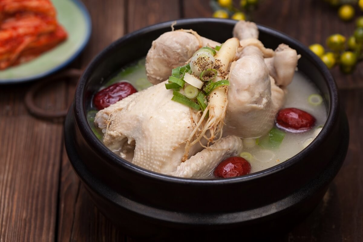 Samgyetang Korean Ginseng chicken soup