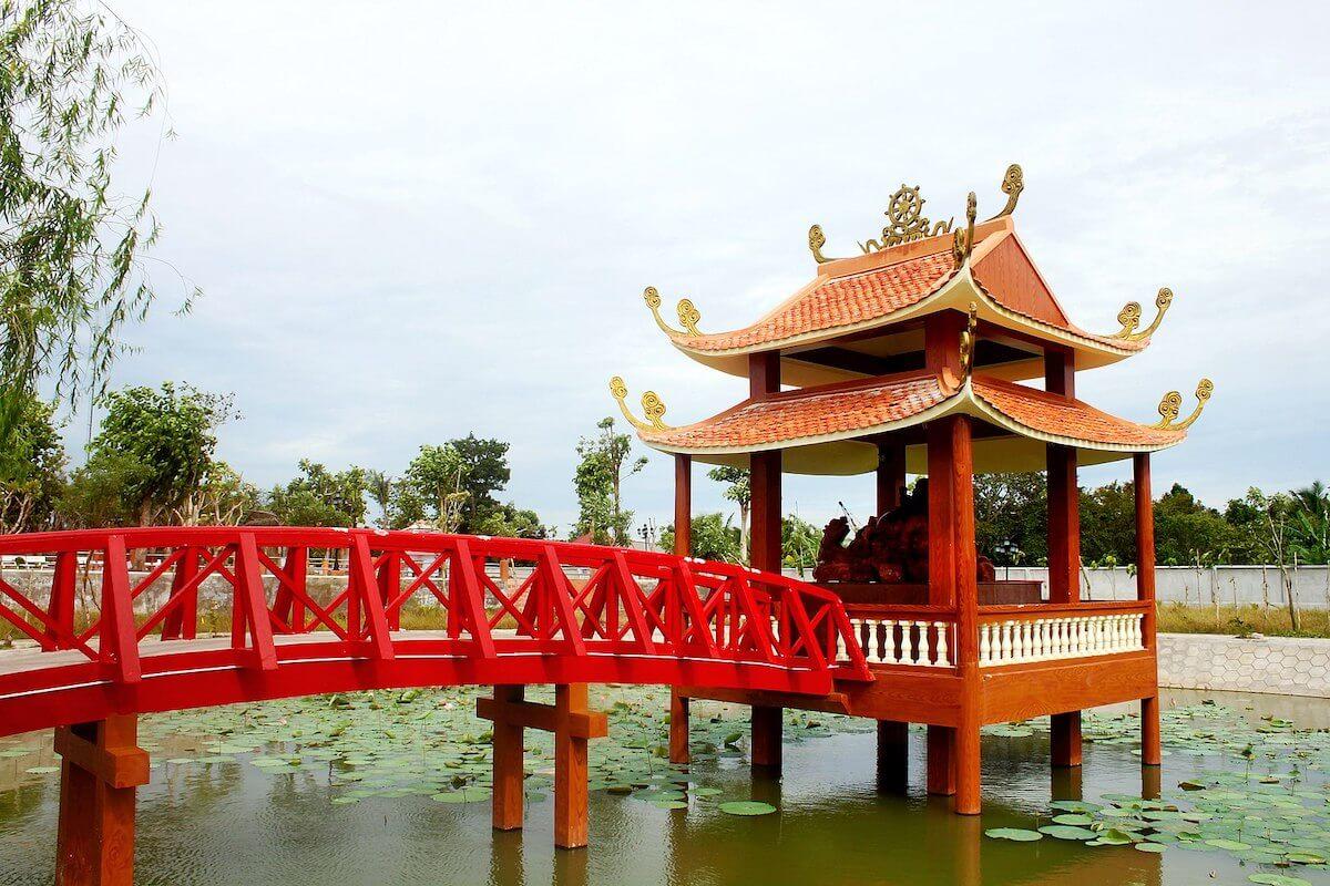 Truc Lam Phuong Nam Zen Monastery Can Tho Vietnam