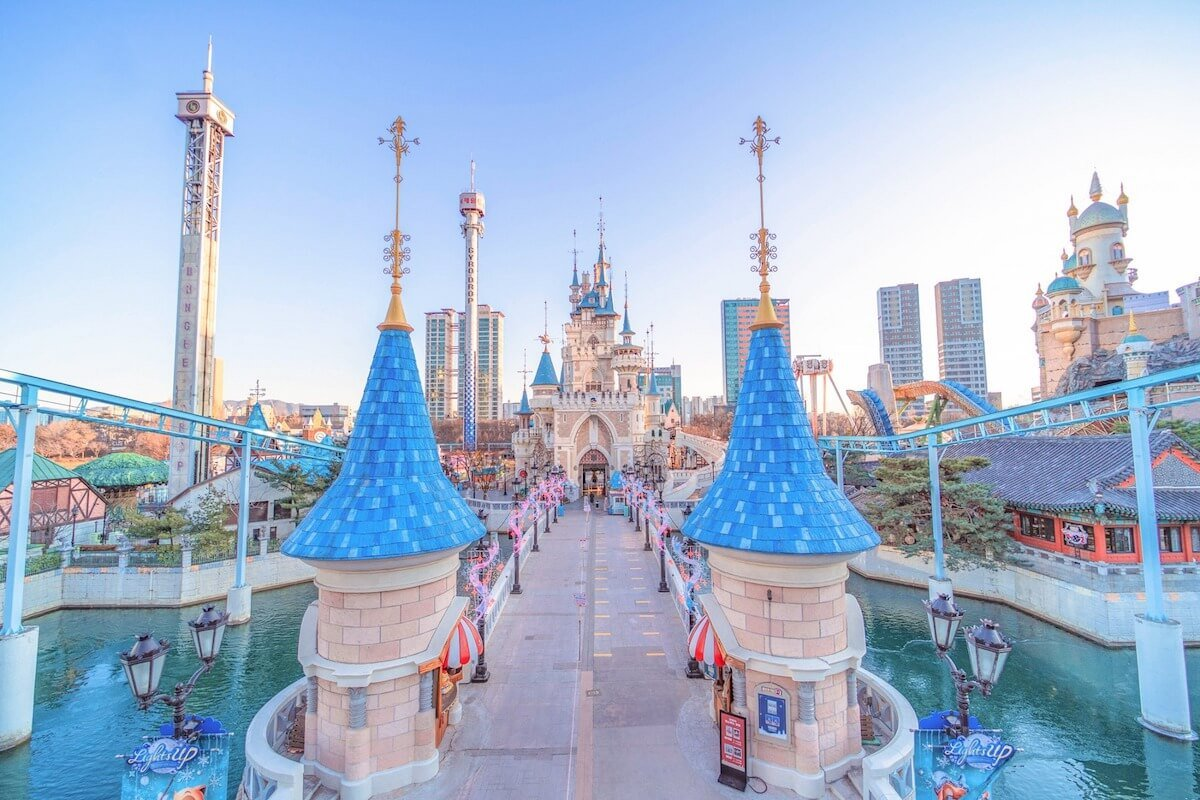 Lotte World Seoul Korea