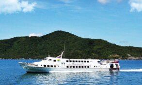 Superdong ferry Rach Gia to Nam Du Vietnam