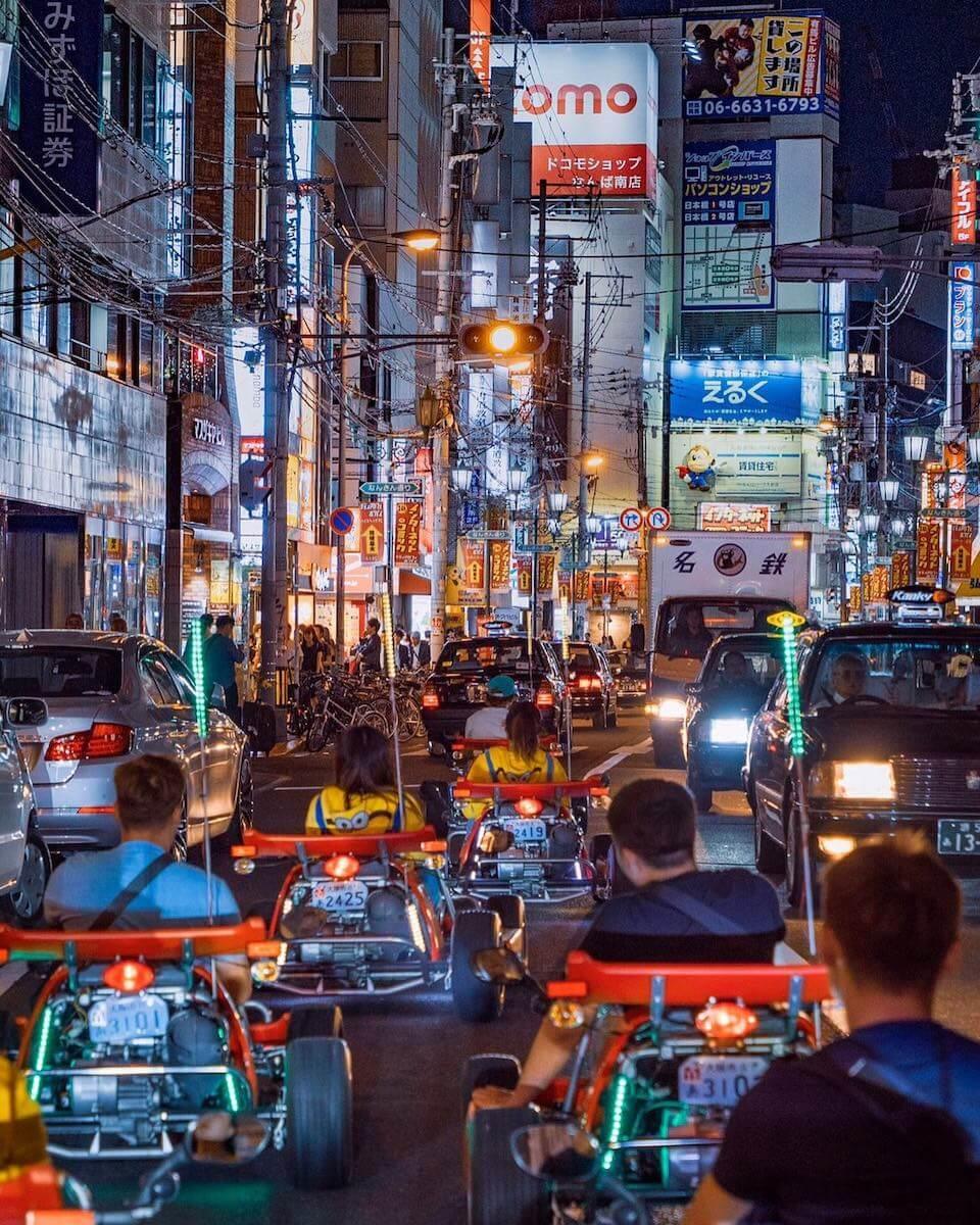 go-kart Osaka Japan