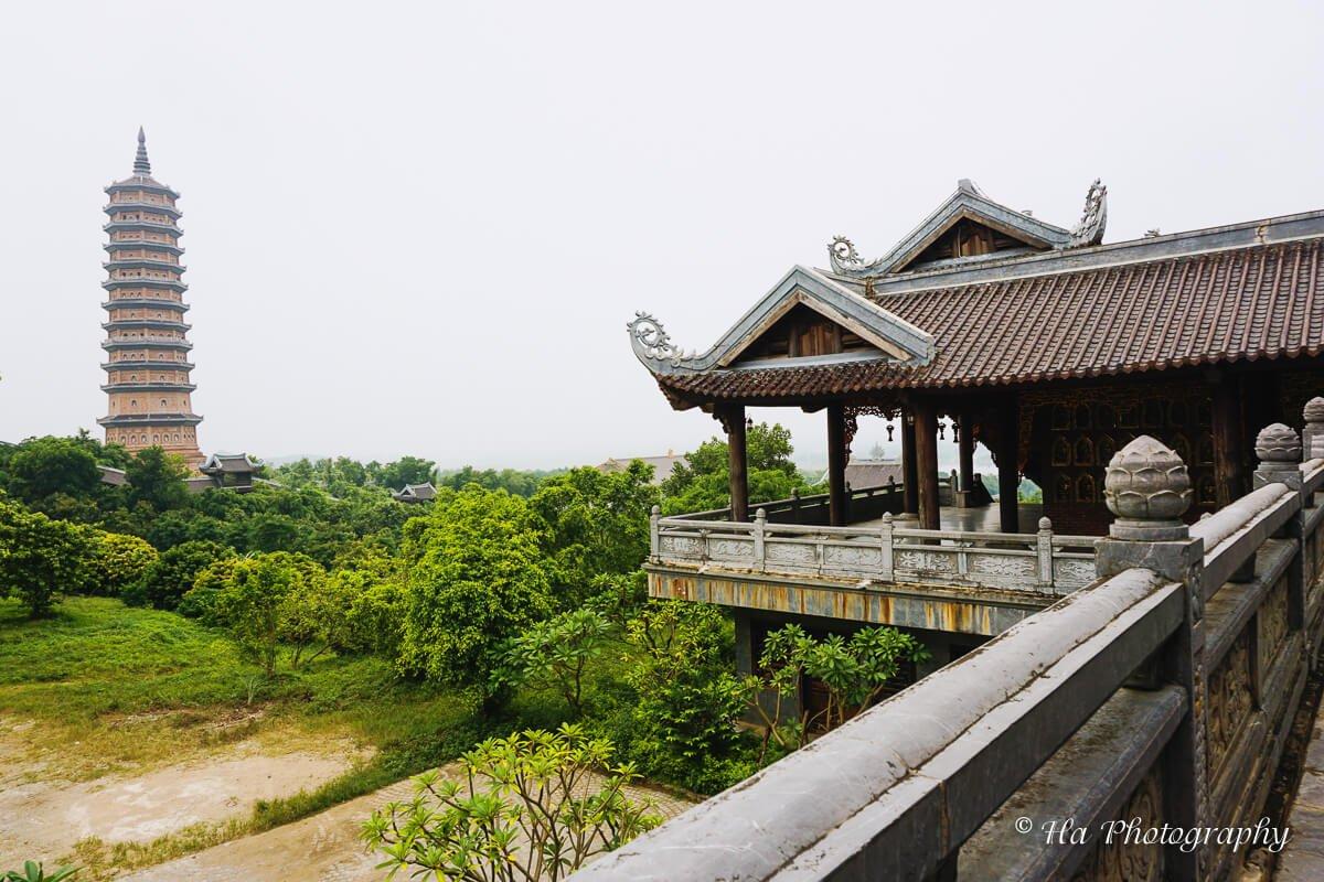 Bai Dinh pagoda view Ninh Binh Vietnam
