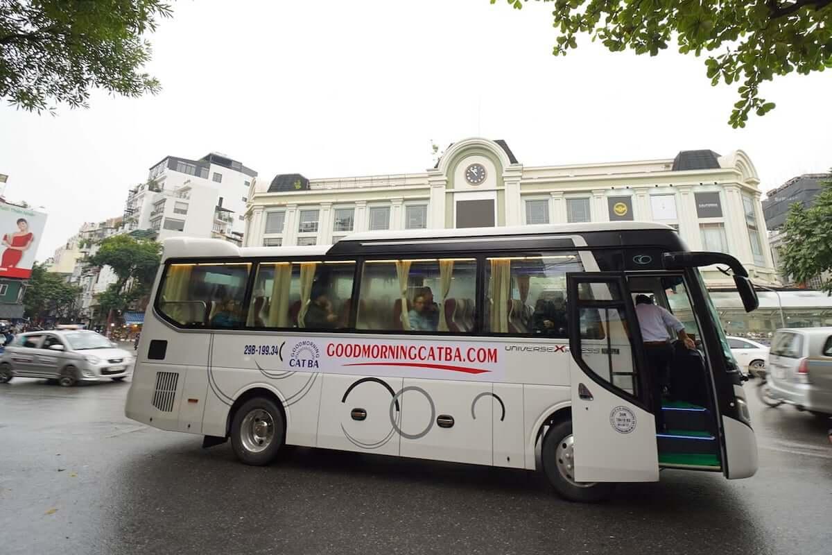 Ha Giang to Cat Ba bus