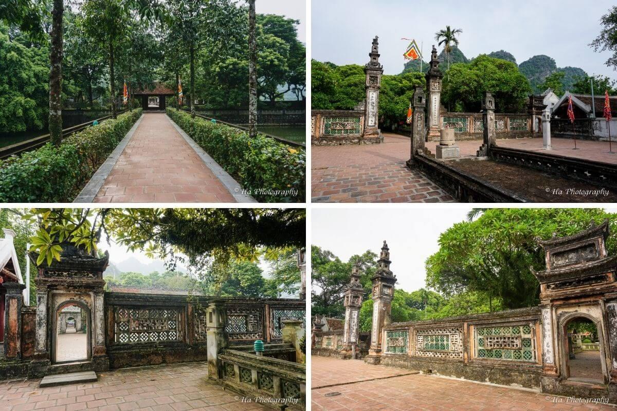 King Dinh temple Ninh Binh Vietnam