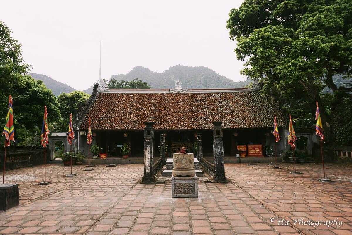Le temple Hoa Lu Ninh Binh Vietnam