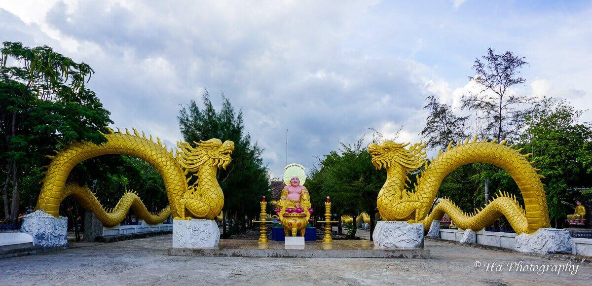 Tu Van shell pagoda Cam Ranh Vietnam