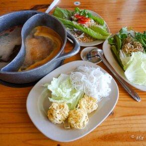 vegetable hot pot da lat vietnam