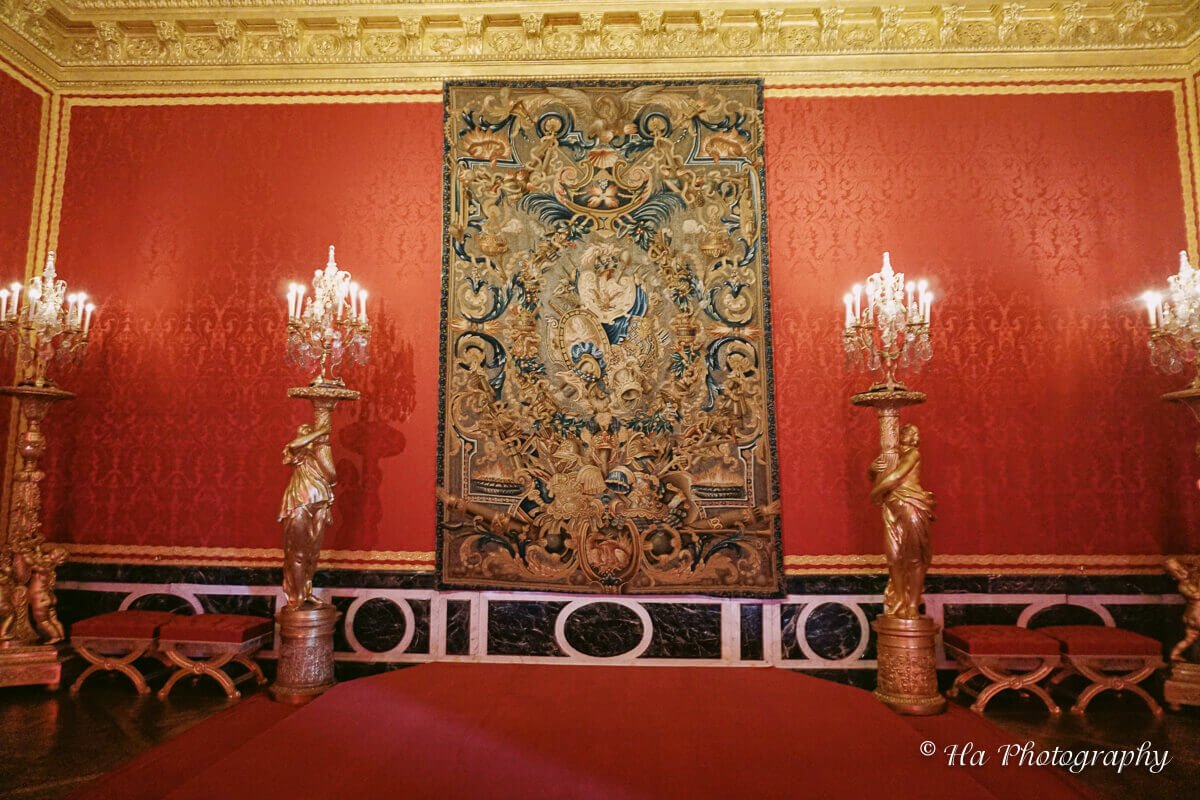 Apollo Room Palace Versailles France.