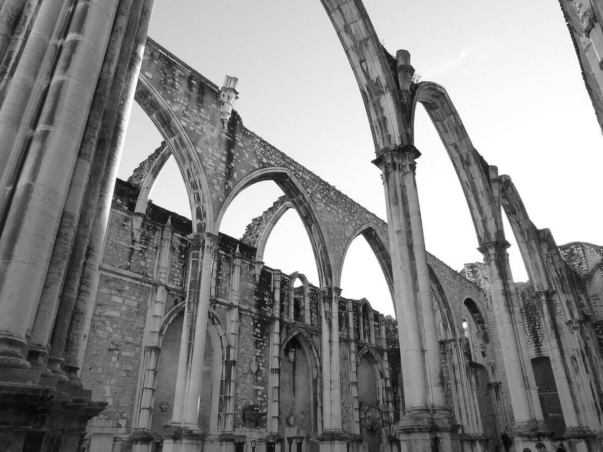Carmo Convent ruins.
