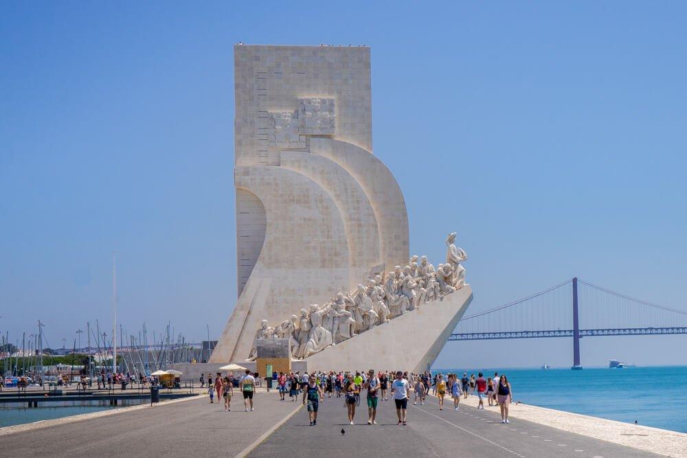 Discoveries Monument Belem Lisbon Portugal.