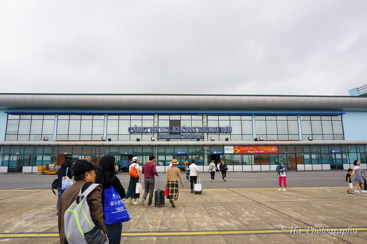 Dong Hoi airport Vietnam