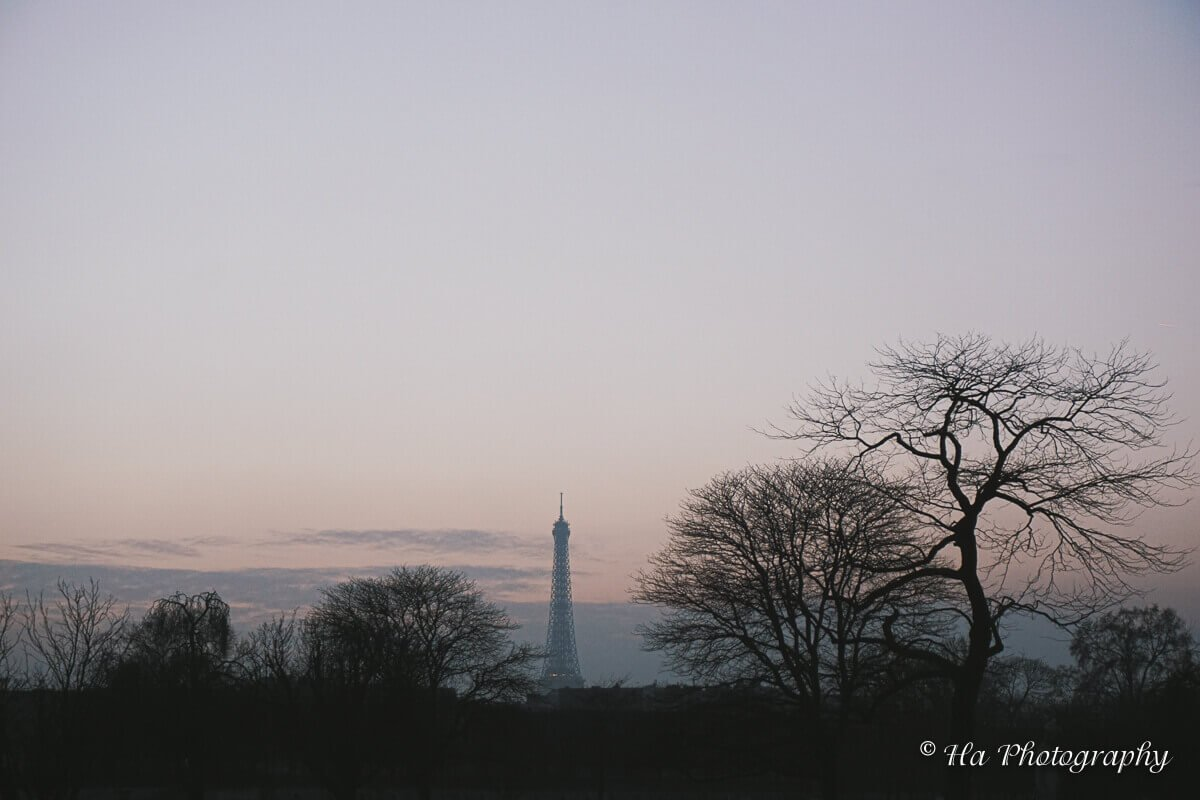 Eiffel tower Paris France.