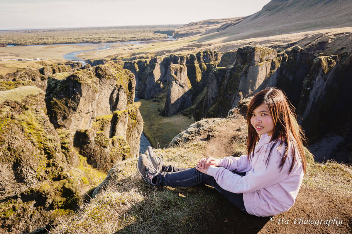 Fjadrarargljufur canyon travel Iceland