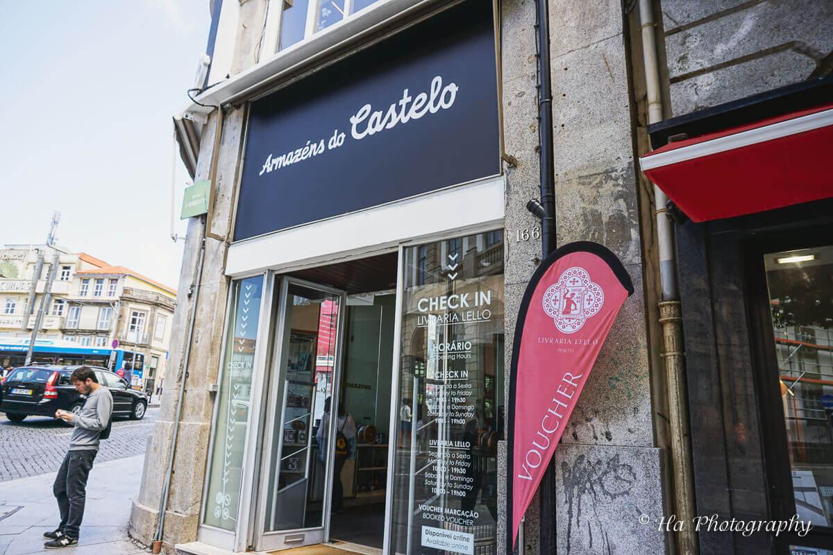 Lello bookstore Porto Portugal
