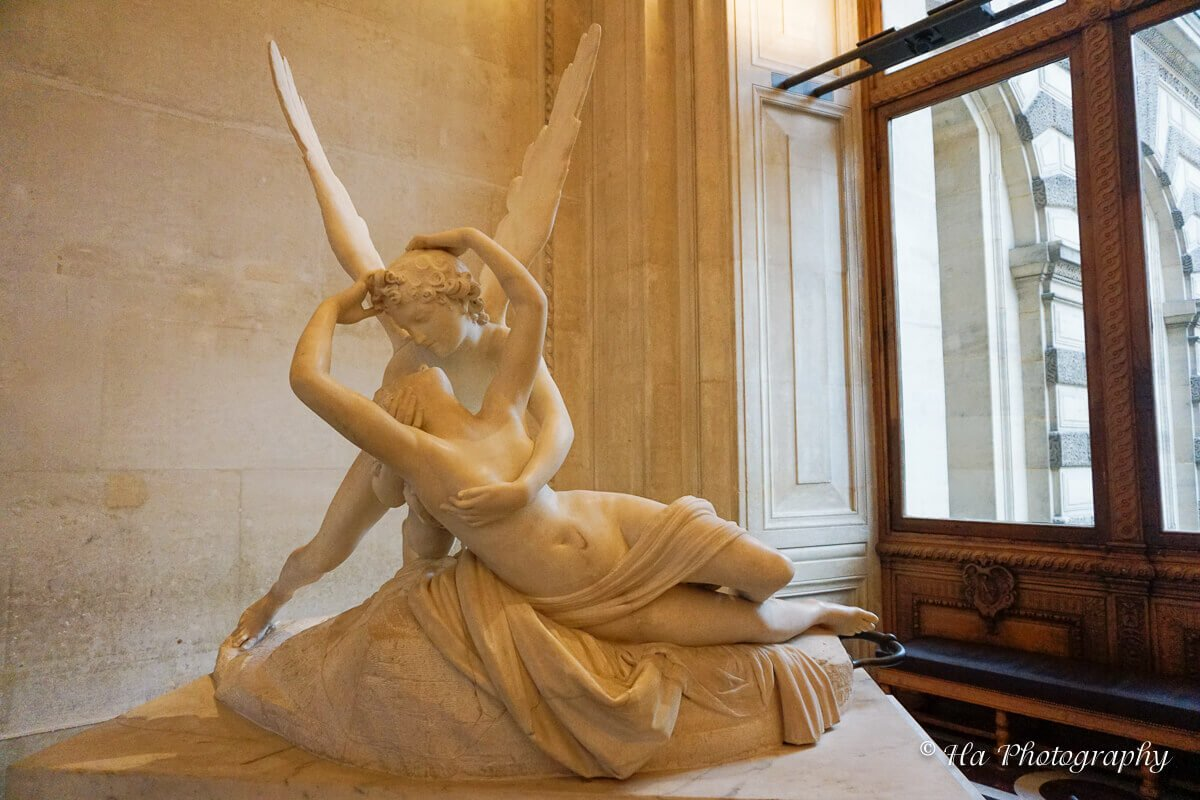 Louvre Museum Canova Cupid And Psyche Paris.