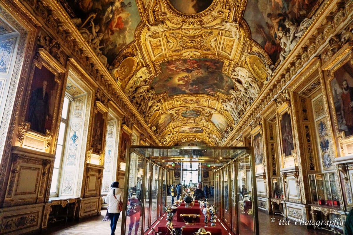 Louvre Museum Galerie d'Apollon Paris France.