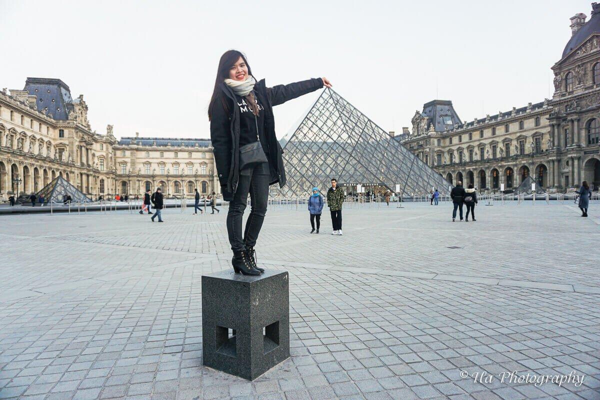 Louvre Museum Paris France.