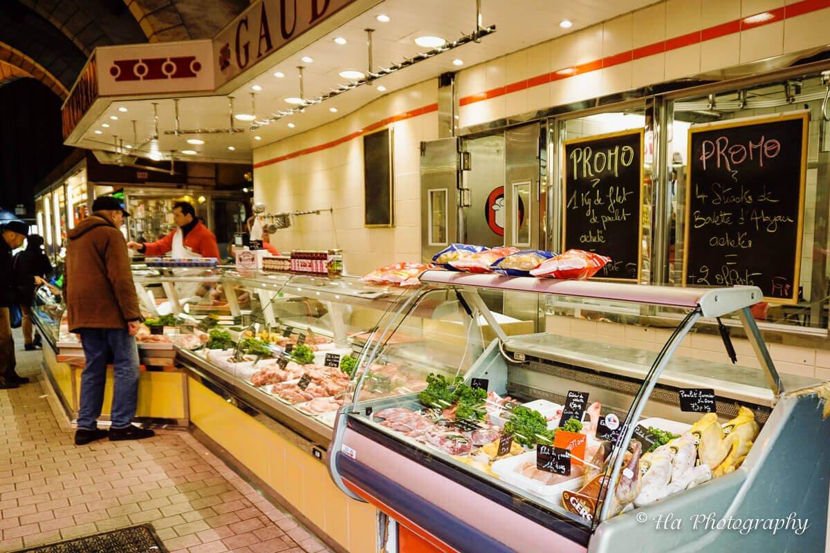 Market Versailles France.