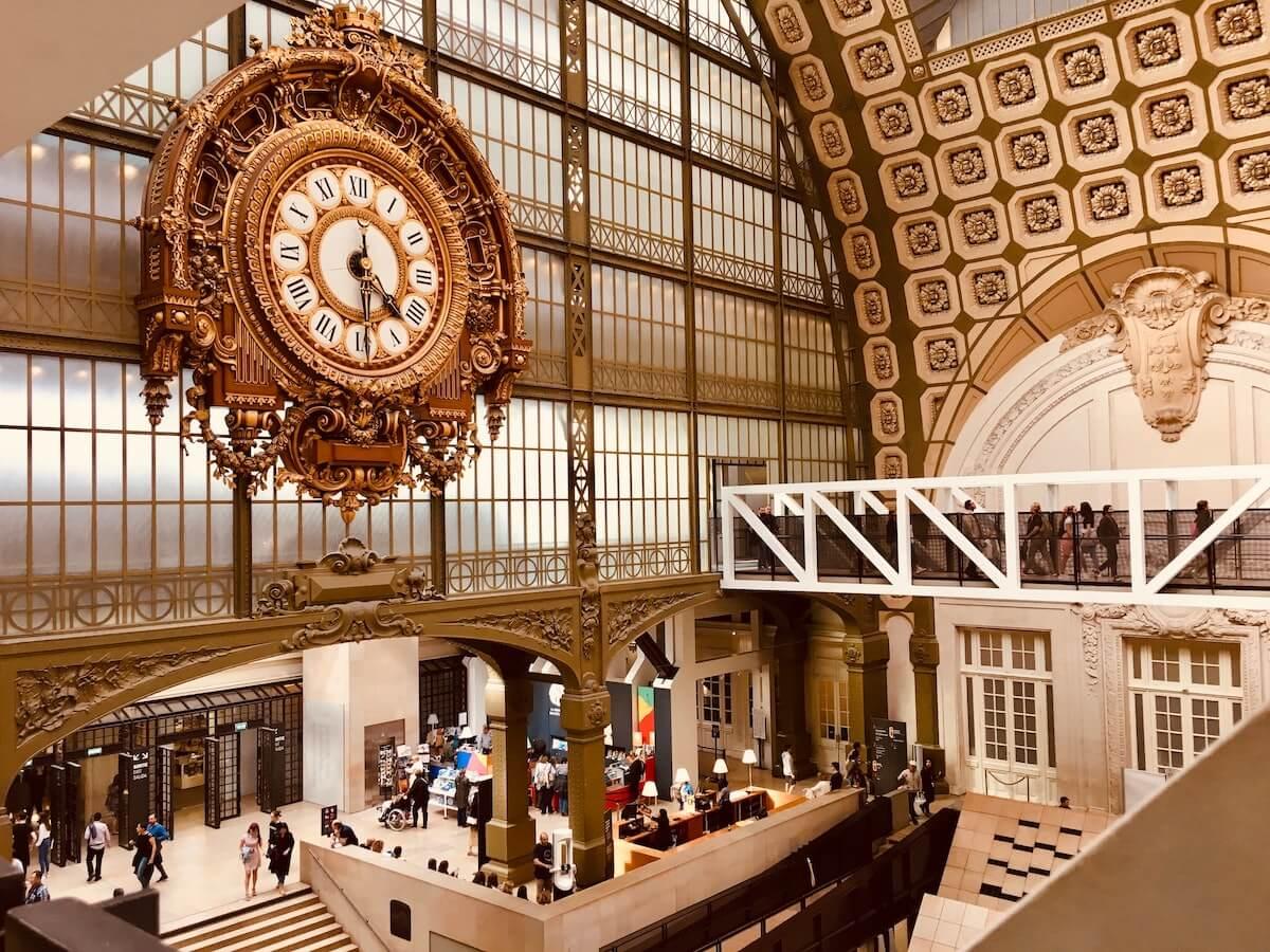 Musee d'Orsay Paris France.