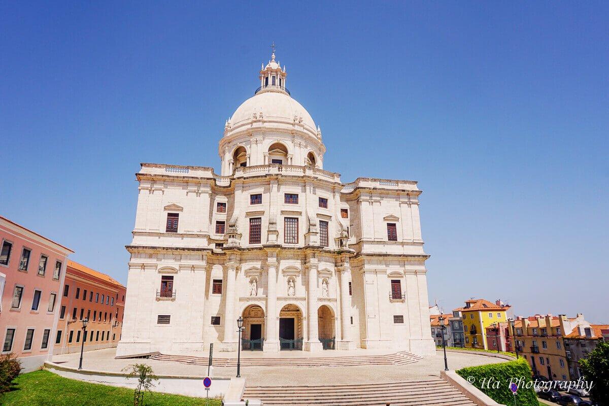 National Pantheon Lisbon Portugal.