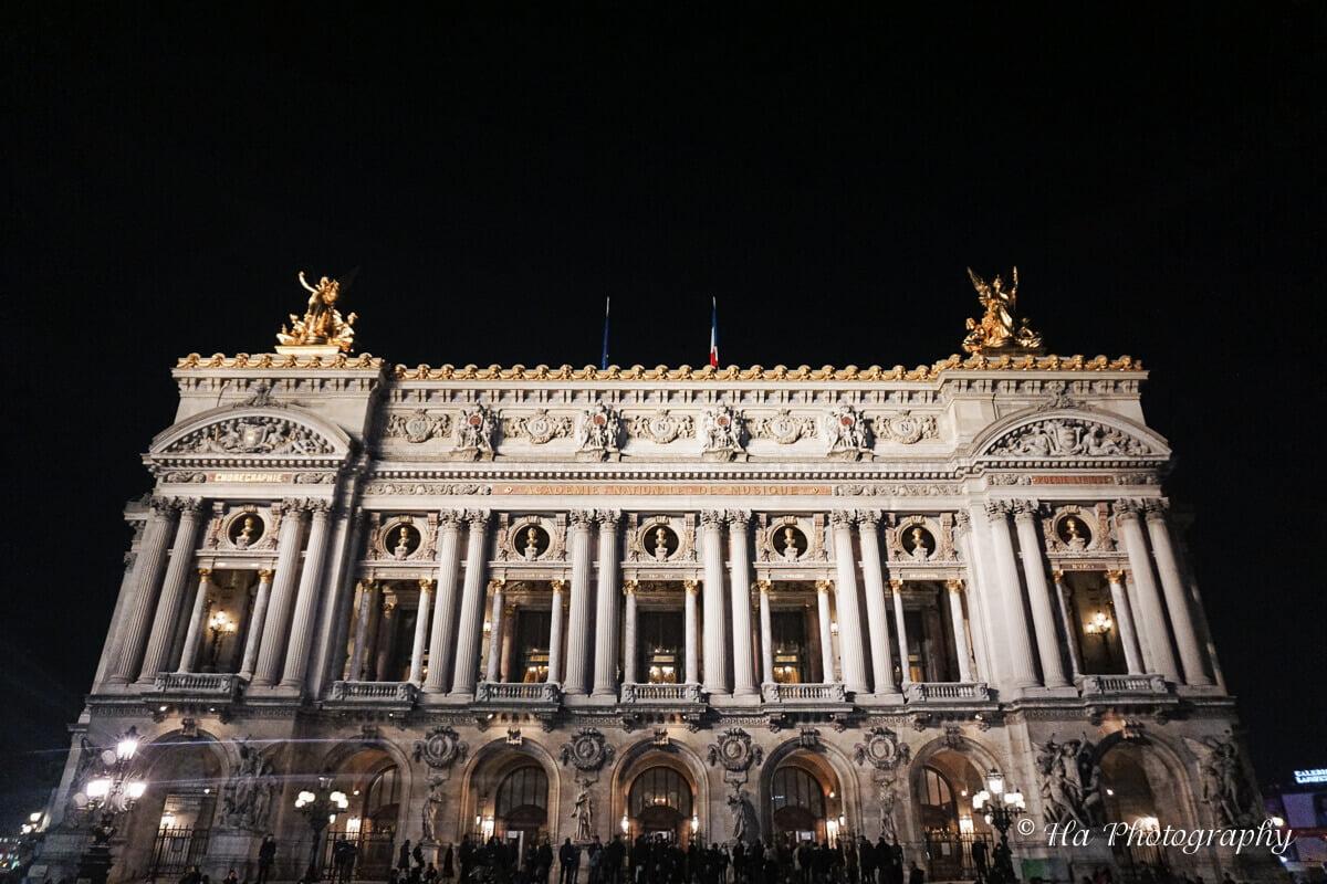 Palais Garnier Paris France.