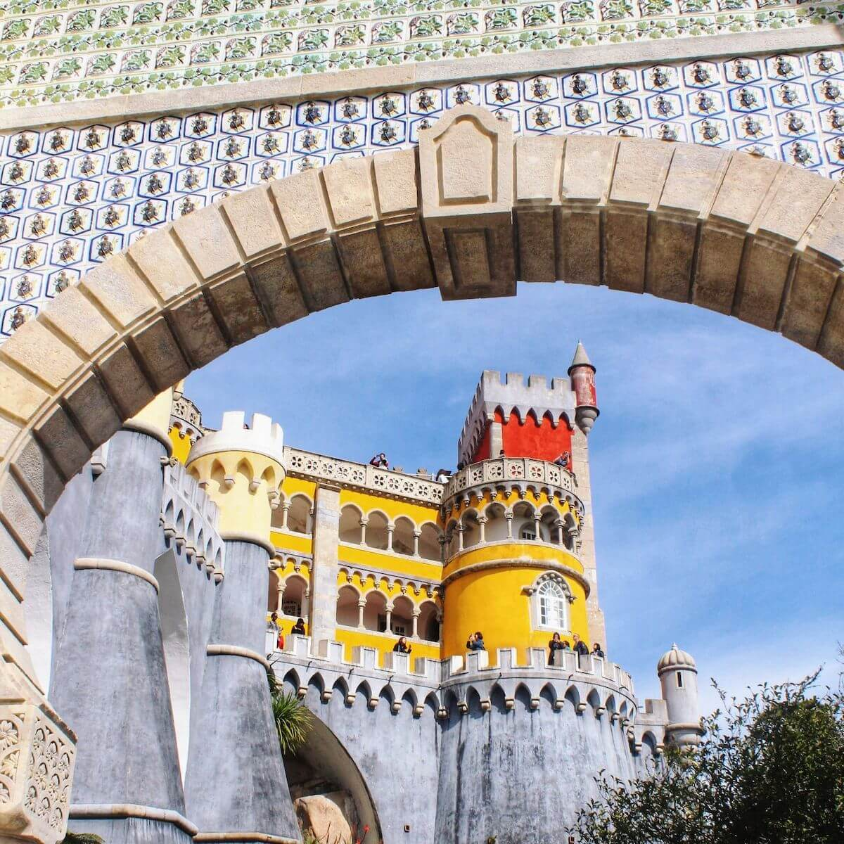 Pena Palace Portugal.
