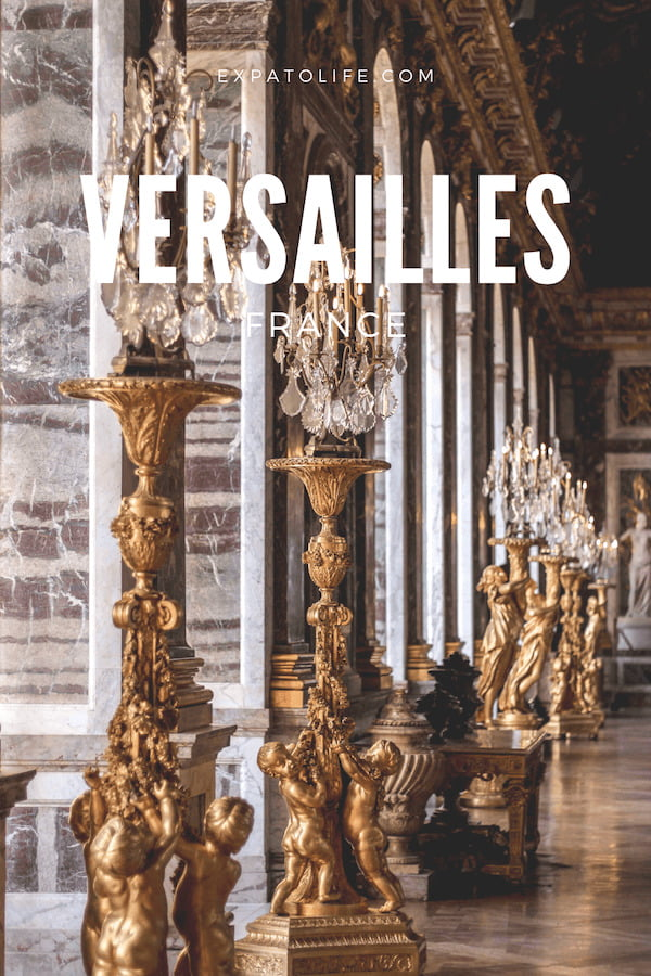 Palace of Versailles France.