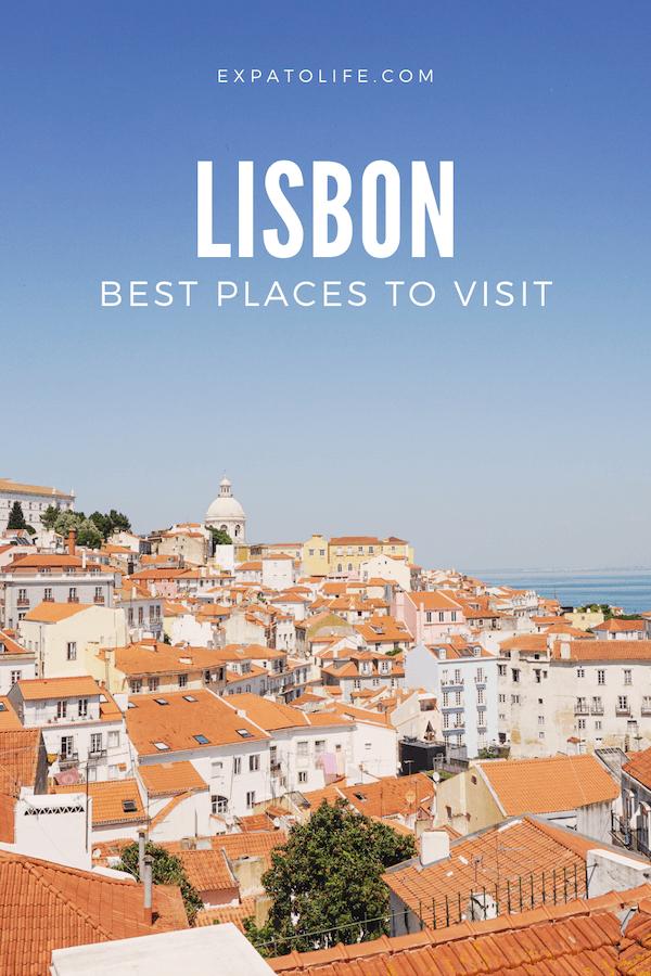 best places to visit Lisbon Portugal.
