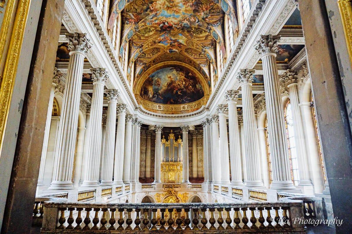 Royal Chapel Versailles France.