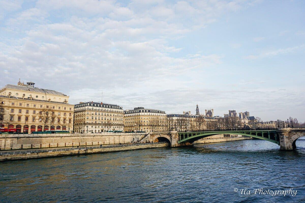 Seine River Paris France.