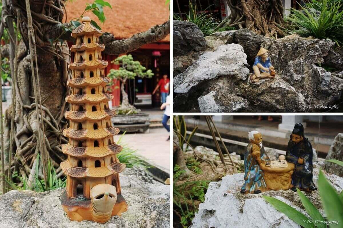 Temple Of Literature decoration Hanoi Vietnam