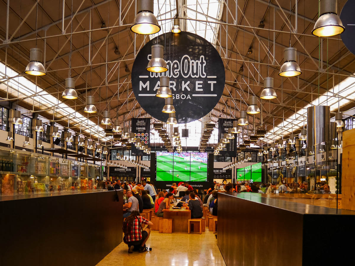 Time Out Market Lisbon Portugal.