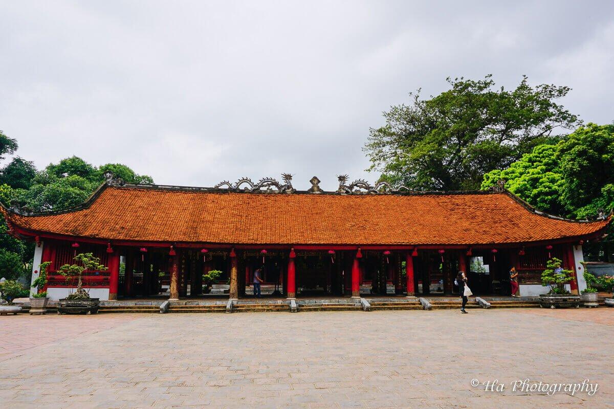 Van Mieu shrine Hanoi Vietnam