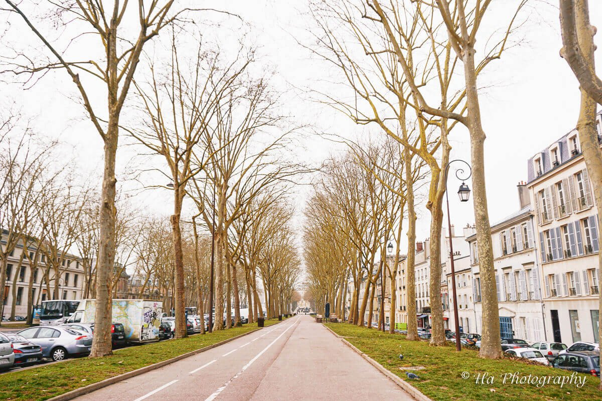Versailles street France.