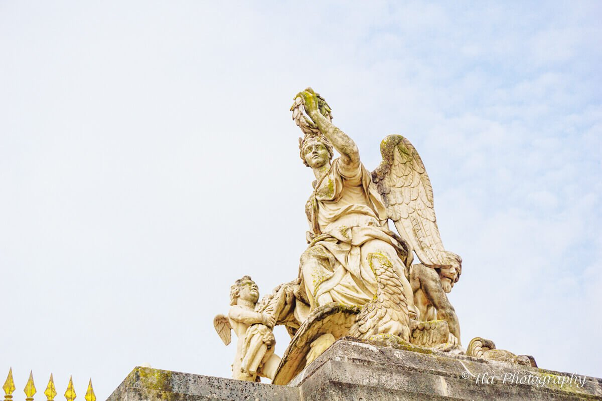 Victory over the Empire statue.