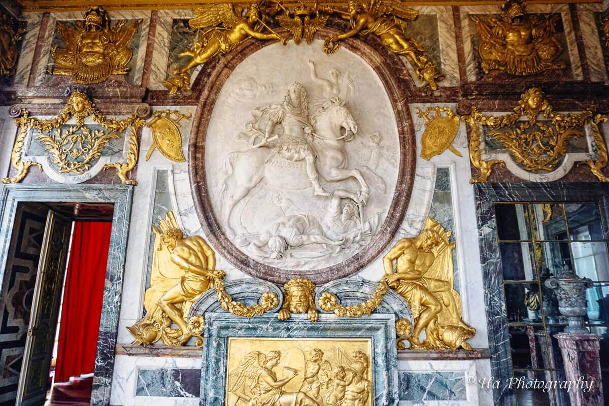 War room Palace Versailles France.