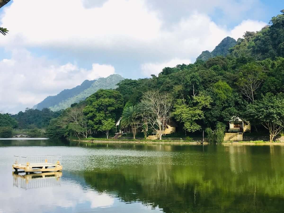Cuc Phuong Park Vietnam Ho Mac Lake.