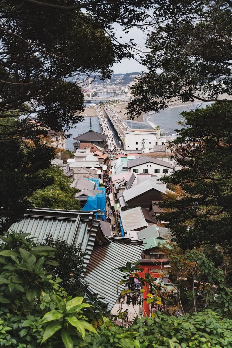 Enoshima island Japan.