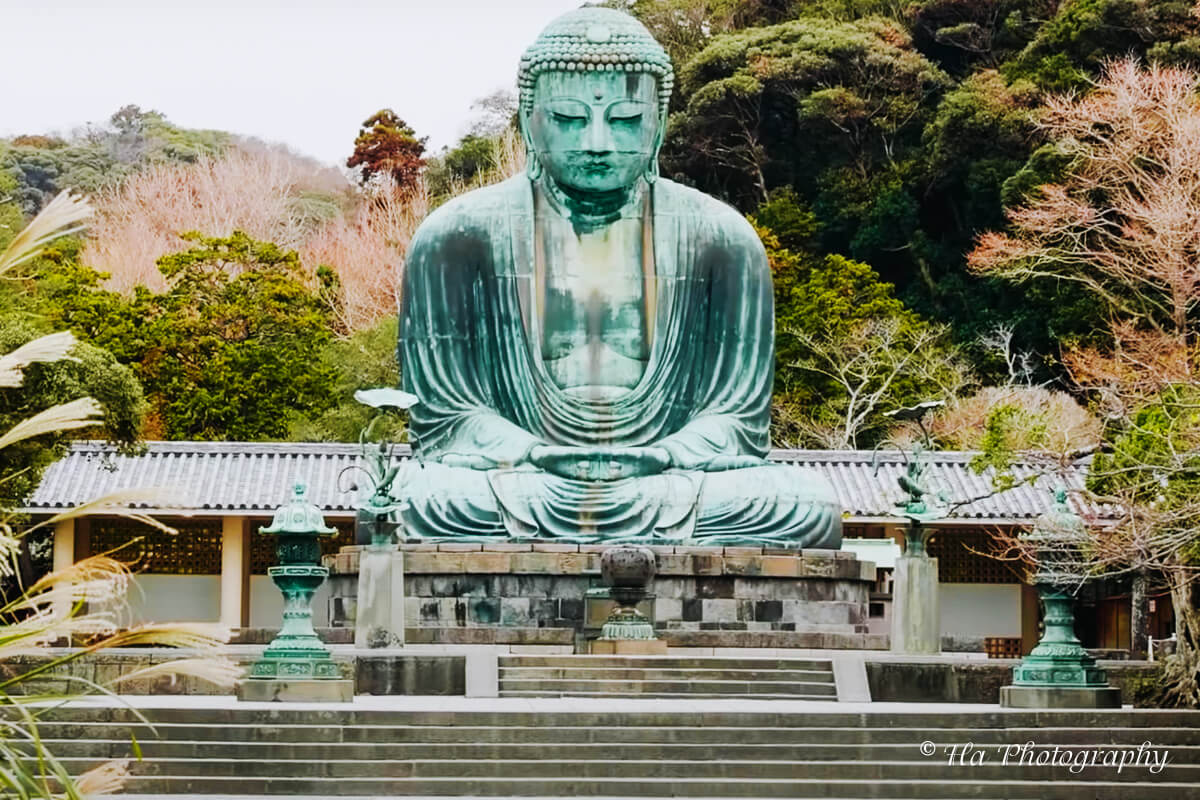 Great Buddha Kamakura Japan.